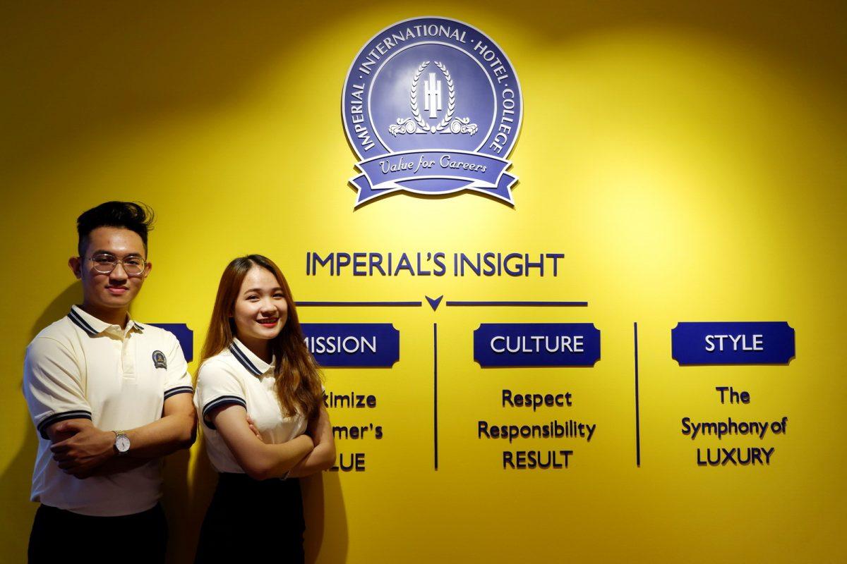 Học quản trị khach sạn ở Imperial